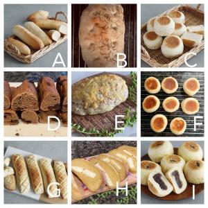 【レッスン募集します♡『おうちパン』基本の9種類】