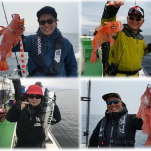 5/23苫小牧沖 中深海&カラフトマスツアー!