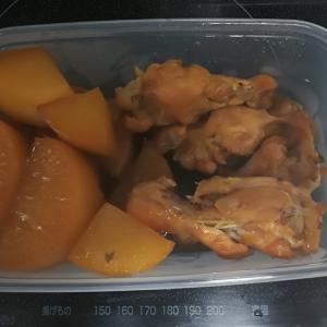 炊飯器でおかず作りました。大根と鶏