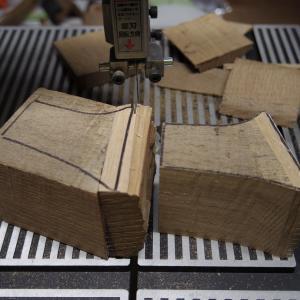 7cmヒールのパンプス ヒール作り
