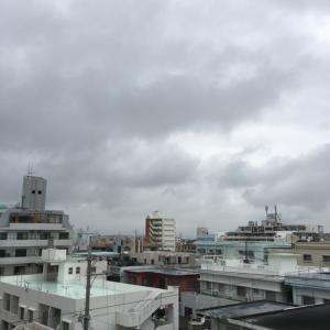 22℃の曇り空@グッドモーニング!Saturday コザ♪