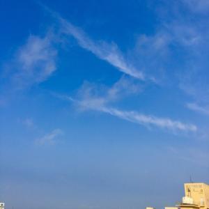 21℃の晴れ空@グッドモーニング!Monday コザ♪