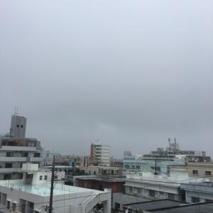 18℃の小雨模様@グッドモーニング!Saturday コザ♪