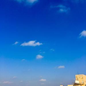 23℃の晴れ空@グッドモーニング!Thursday コザ♪