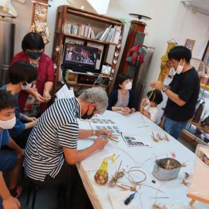 竹細工ワークショップが3体験@第1回ゴーマハウス文化祭!