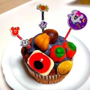 ハロウィン目玉マロンクリームカップケーキ&海老スープチキンカレー限定販売@第2回ゴーマハウス文化祭!