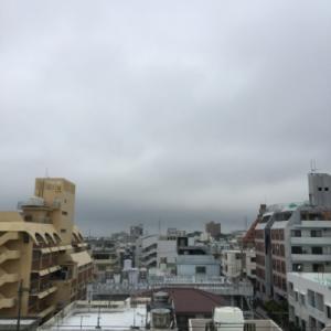 沖縄梅雨入り!23℃の曇り空@グッドモーニング!Thursday コザ♪