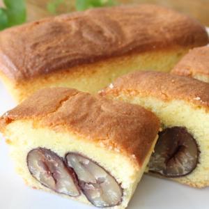 須木栗の渋皮煮を使ったパウンドケーキ