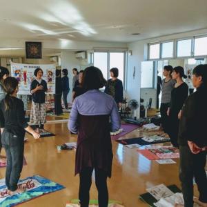 古河市YOKOヨガスタジオにて「官足法足もみWS」開催しました