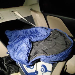 【車中泊】WILD-1限定のスリーピングバック(寝袋)が快適で最高!