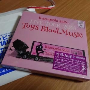 Kazuyoshi Saito LIVE TOUR 2018 Toys Blood Music Live ライブCD買いました