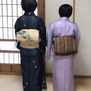 昨日のお稽古!【秋のお稽古スタート】