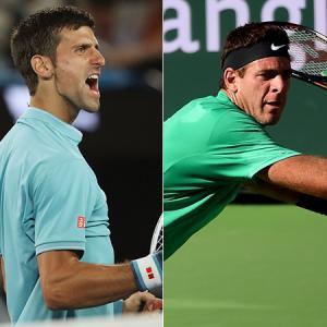 テニス試合結果速報:BNPパリバオープン2017 ジョコビッチ VS デルポトロ