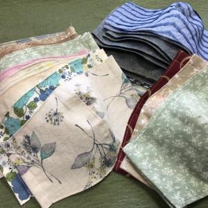手作り 布マスク❗️