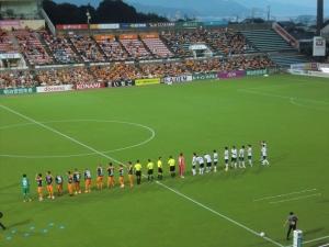 自滅(8/22 横浜FC戦)