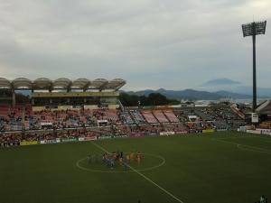 富士山は美しかった(10/18 鳥栖戦)