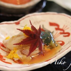 秋の和食おもてなしレッスン♥続きます!