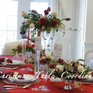 クリスマスのテーブルコーディネート♥