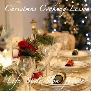 クリスマスおもてなしレッスン♥レッスン風景