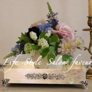花と食卓とおもてなしレッスン♥春遠からず!