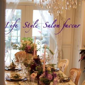 おもてなしサロンのテーブルとインテリア♥寒い中今日も有り難うございました♪