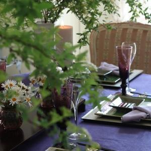 寒の入りのテーブル♥季節のあしらいを~♪
