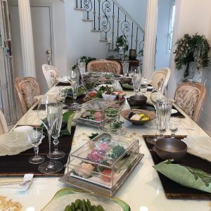 お盆の親戚お集まり会♥我が家で手巻き寿司でおもてなし!