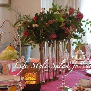 秋ですねぇ~♪♥オータムカラーで~!テーブルコーディネートレッスン♪
