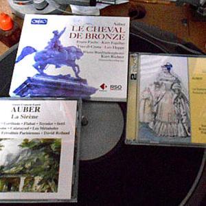 オーベール「青銅の馬」、「黒のドミノ」と「水の精」
