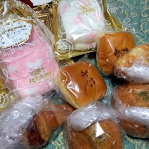 大阪市Aちゃんから柿安ダイニングのパン&ポカポカ靴下