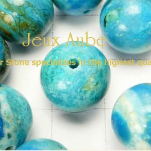 幸せを呼び込む青い鳥 リメイク用粒売りパワーストーン 天然石