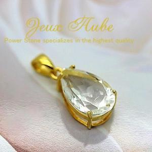 純粋無垢な宝石質クリスタルクォーツ(天然水晶)ペンダントトップ