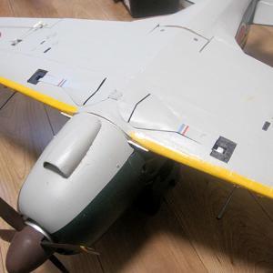 雷電 主脚不具合検証修理