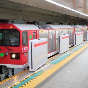 大江戸線12-600形12-681F 馬込出場回送@大門