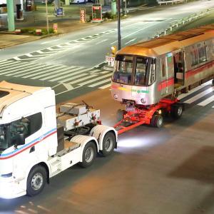 トレーラーヘッド向き都営大江戸線12-000形108号車
