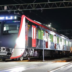 都営浅草線5500形5511編成J-TREC出場回送