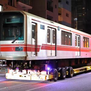 東京メトロ02系 02-125F 02ー625号車 廃車陸送