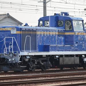青釜(北斗星色)DE10 - 1109 東武鉄道譲渡甲種
