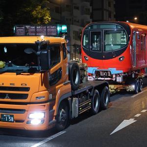 東京メトロ丸ノ内線2000系2123F 2023号車陸送