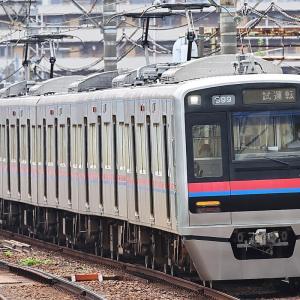 京成3000形3002編成 架線検測試運転@京成関屋