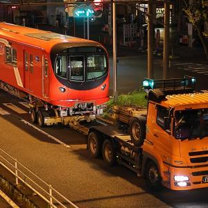 東京メトロ丸ノ内線2000系 2125F 2025号車陸送