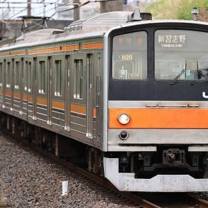 武蔵野線205系M20編成ラストランは01E運用@東川口