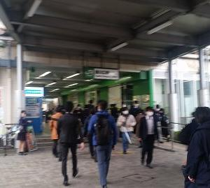 東川口駅に到着