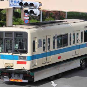 小田急8000形8255号車 廃車陸送