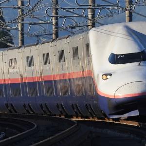 E4系Max P82, P14, P13編成@中山トンネル