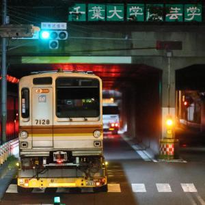 東京メトロ7000系7128F 7128号車陸送@松戸隋道