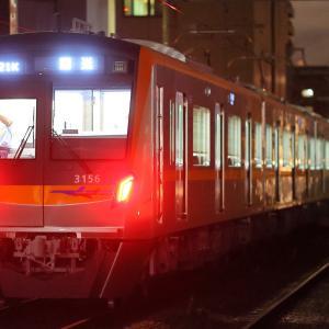 京成3100形3156編成 J-TREC出場回送@立会川