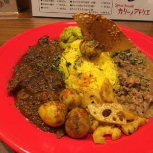 大阪、西大橋、「スパイスハウス カリーノアトリエ (Spice house)」