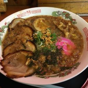 和歌山、粉河、「蛸蔵・八眞」のチャーシュー麺。