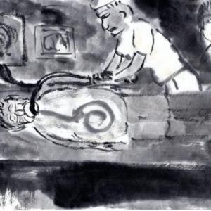 九度山暮らしのある日、ある日、突然、ガン患者になってしまった話−2、内視鏡(胃カメラ)検査。